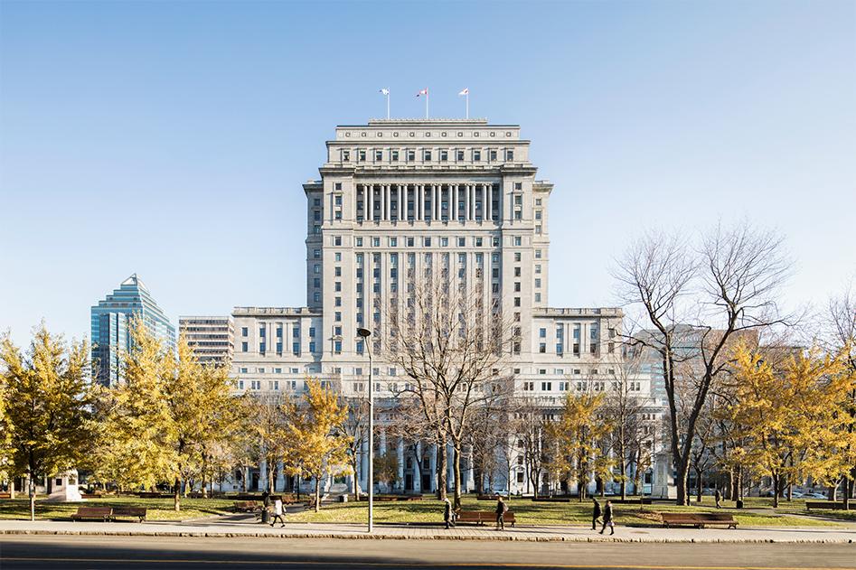 Au centre de l'activité économique de Montréal